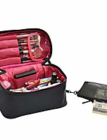 cheap -travel makeup bags small cosmetic bag case organizer pouch for women black