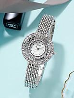 cheap -Women's Quartz Watches Quartz Modern Style Stylish Classic Diamond Silver / Gold / Rose Gold Analog - Rose Gold Gold Silver