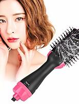 cheap -hair dryer brush, rotating hair dryer brush, rotating hair styler, multifunctional professional hair dryer,anion infrared hair dryer brush, hair blow comb, curling straightening massaging brush(us)