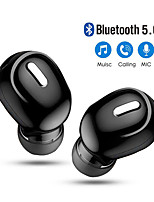 cheap -Mini In-Ear 5.0 Bluetooth Earphone HiFi Wireless Headset With Mic Sport Earbuds Handsfree Stereo Sound Earphones For All Phones