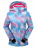 cheap -girls' waterproof windproof outdoor warm snowboard ski jacket multi1 16