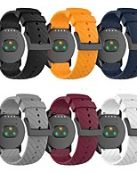 cheap -Watch Band for SUUNTO 7 Spartan Sport Suunto Classic Buckle Silicone Wrist Strap
