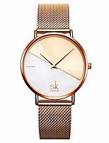 cheap -ladies watch stainless steel mesh strap japan quartz movement waterproof watches for women reloj de mujer