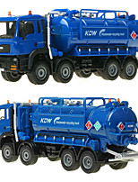 cheap -KDW 1:50 Plastic Alloy Waste Water Recycling Truck Engineering Vehicle Alloy Car Model Simulation All Adults Kids Car Toys