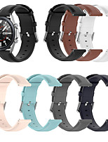 cheap -Genuine Leather Strap for Galaxy Watch 3 41 45mm 42mm 46mm Gear S3 S2 Classic Galaxy Active 2/3