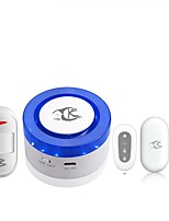 cheap -Tuya Smart home security wifi alarm siren for smart life free APP compatible 433Mhz Alarm Sensors