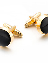 cheap -Cufflinks Simple Basic Brooch Jewelry Black For Daily Festival
