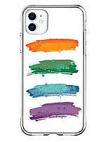cheap -Case For Apple iPhone 12 / iPhone 12 Mini / iPhone 12 Pro Max Shockproof / Pattern Back Cover Lines / Waves TPU