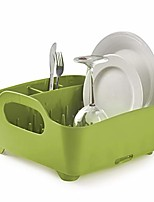cheap -tub dish drying rack – lightweight self-draining dish rack for kitchen sink and counter at home, rv or motorhome, avocado