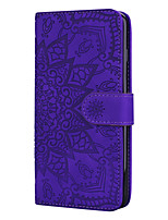 cheap -Case For Samsung Galaxy S8 S8 Plus S9 S9 Plus S10 S10e S10 Plus A10 A20 A30 A40 A50 A70 A80 A90 A10E A20E Card Holder Flip Magnetic Full Body Cases Solid Colored PU Leather