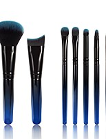 cheap -7 Pcs 6D Makeup Brush Set New Colorful Gradient Makeup Brush Set Brush Eye Shadow Loose Powder Eyebrow And Lip Brush