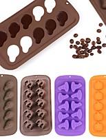 cheap -Halloween Silicone Baking Mold DIY 3D Chocolate Mold 1 Pc