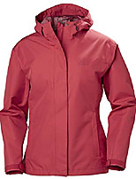 cheap -helly hansen women's seven j waterproof windproof breathable rain coat jacket, 365 summer red, small