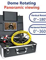 cheap -MOUNTAINONE F9809-30M 9 Inches Hemisphere Rotating Pipe Camera Infrared Light High Strength Fiber Underwater fishing Camera For Ice Fishing