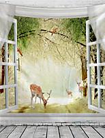 cheap -Landscape Wall Decor 100% Polyester Classic / Modern Wall Art, 150100 cm Decoration