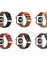 cheap -Watch Band for Apple Watch Series 5 4 3 2 1 Apple Watch Series 6 Apple Watch SE Apple Leather Loop Genuine Leather Wrist Strap