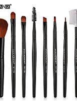 cheap -8pcs makeup brushes set,long handle premium foundation powder eyeliner eyebow comb eyeshadow blush brushes set cosmetic tools & #40;i& #41;
