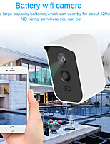 cheap -Wireless Security Camera Outdoor Indoor  Rechargeable Battery Powered WiFi Camera IP65 Waterproof Night Vision1080P Home Security Camera with Motion Sensor Two-Way Audio Support TF Card/Cloud Storage