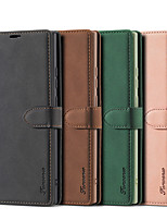 cheap -Luxury Leather Case Magnetic Flip Case for Samsung Galaxy Note 20 Note 20 Ultra Note 10 Note 10 Plus Note 9 S20 S20 Ultra S20 Plus S10 S10E S10 Plus S9 S9 Plus S8 S8 Plus A11 A21S A31 A41 A51 A71