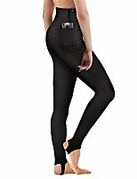 cheap -women's wetsuit pants premium 2mm neoprene sauna leggings for workout swimming surfing and snorking (black, s)