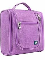 cheap -hanging travel toiletry bag for women men | bathroom toiletry organizer kit for cosmetics makeup | dopp kit hygiene bag for shaving shower (purple)