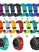cheap -Watch Band for Fenix 5s Garmin Classic Buckle Silicone Wrist Strap