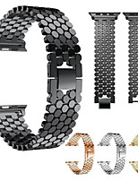 cheap -Watch Band for Apple Watch Series 6 / SE / 5/4 44mm / Apple Watch Series 6 / SE / 5/4 40mm Apple Jewelry Design Stainless Steel Wrist Strap