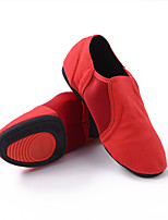 cheap -Women's Dance Shoes Ballet Shoes / Latin Shoes / Practice Trainning Dance Shoes Flat Flat Heel Black / Red / Performance