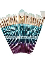 cheap -20 Pcs Makeup Brush Set Beauty Tools Diamond Makeup Brush Set Unicorn Long Stick Eye Shadow Brush