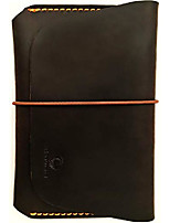 cheap -leather passport holder for men & women - wallet case for 1 or 2 passports (vintage brown)