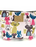cheap -hunger pink cats print make-up cosmetic bag carry case, 14 patterns