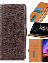 cheap -Case For Asus ROG Phone 3 ZenFone Max Pro M2 ZB631KL Max M2 ZB633KL Wallet Card Holder with Stand Full Body Cases Genuine Leather Case For ASUS ZenFone Max Plus (M1) ZB601KL ZA550KL ZS630KL