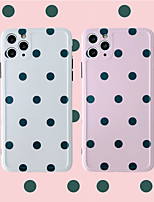 cheap -Dots Pattern IMD Case For Apple iPhone 11 Pro Max 8 Plus 7 Plus 6 Plus Max Back Cover