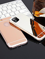 cheap -Mirror Case Ultra Thin Soft Silicone Cover For iPhone 11 /11pro/11 Pro Max /X/XS/XS MAX/8/8 Plus Protective