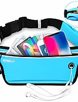 cheap -fanny pack for running for workout - waterproof slim fitness running belt phone holder for women and men, with side pouch, adjustable for small & large waists