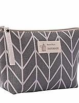 cheap -portable large capacity print cosmetic bag travel makeup bag toiletry bags 8.3 x 5.1inch
