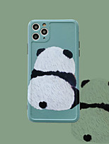 cheap -Cartoon Panda Pattern TPU Case For Apple iPhone 11 Pro Max 8 Plus 7 Plus 6 Plus Max Back Cover