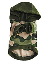 cheap -fashion sweatershirt hoodie pullover clothes apparel cool pet dog puppy camouflage warm (1pcs) camouflage