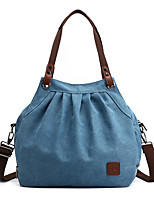 cheap -Women's Bags Canvas Crossbody Bag / Hobo Bag Zipper for Shopping / Daily Black / Purple / Sky Blue / Gray