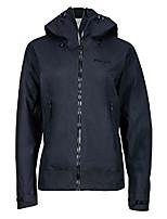cheap -women's starfire lightweight waterproof hooded rain jacket, jet black, x-large