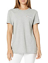 cheap -women& #39;s the boyfriend tee, oxford gray, 2x large