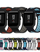 cheap -Watch Band for Vivoactive HR / Vivoactive 3 / Forerunner 645 Garmin Classic Buckle Silicone Wrist Strap