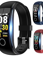 cheap -NY12 Curved-screen Smart Wristband Support Heart Rate Monitor Compatible with IOS/Android Phones