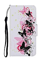cheap -Case For Samsung Galaxy S20 S20 Plus S20 Ultra Wallet Card Holder with Stand Full Body Cases 4 Butterflies PU Leather TPU for Galaxy A21 A11 A01 A51 A71 A41 A31 A21S