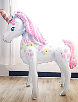 cheap -Party Balloons 1 pcs Unicorn Party Supplies Latex Balloons Boys and Girls Party Decoration 1.1M for Party Favors Supplies or Home Decoration