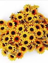 cheap -Simulation of Flower Head of Small Sunflower 1 Pack