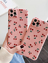 cheap -Case For iPhone 11 Pattern Back Cover Food Textile Case For iPhone 11 Pro Max / SE2020 / XS Max / XR XS 7 / 8 7 / 8 plus