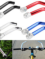 cheap -2019 new 1pair 22.2mm bike bicycle alloy aluminum handlebar handle bar ends mountain bike nonslip mtb mountain bike bicycle end handlebar