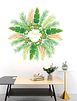 cheap -WallDecals Decor Vinyl DIY Green Tree Leaves Wall Stickers Removable Waterproof Wallpaper Decals Art Easy Peel & Stick for Kids Room Living Room Bedroom