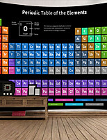 cheap -Wall Tapestry Art Decor Blanket Curtain Picnic Tablecloth Hanging Home Bedroom Living Room Dorm Decoration Polyester Color Periodic Table